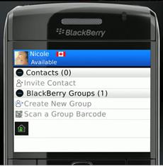 Image #2 of BlackBerry Messenger message app!