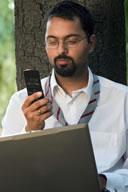 image of person sending text message - (c) Alcoholic @ Dreamstime.com